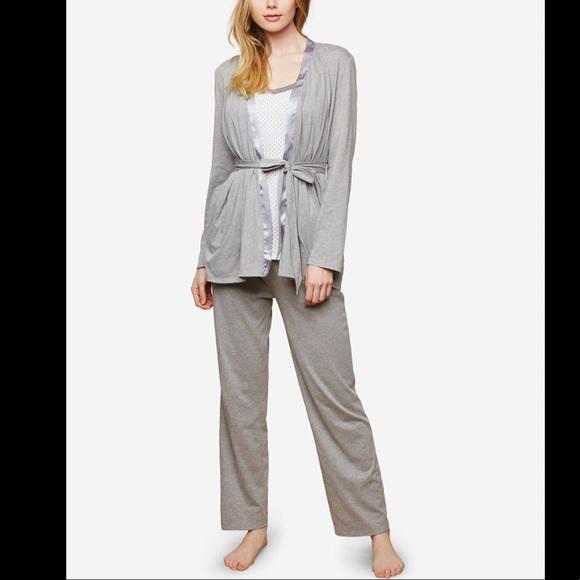 Motherhood Maternity | 3PC Robe Nursing Pajama Set